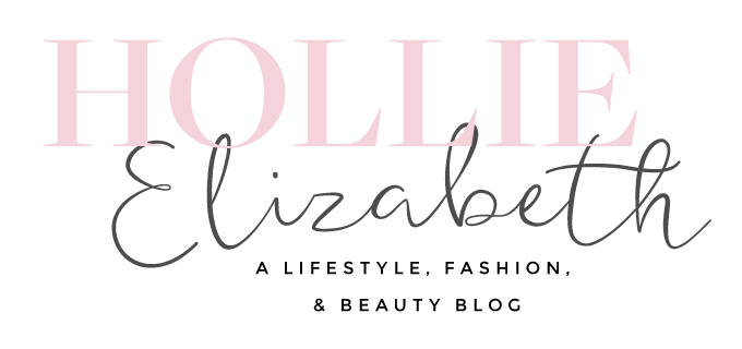 Hollie Elizabeth | A Lifestyle, Fashion & Beauty Blog by Hollie Woodward